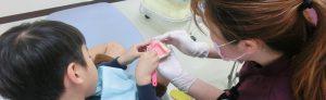 丁寧で分かりやすい歯磨き指導