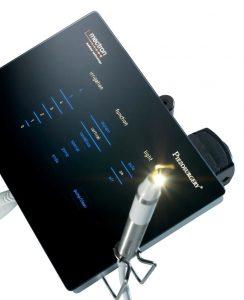 超音波で骨を切ったり穴を開ける機械で、粘膜や血管などは切れないので、安心です。